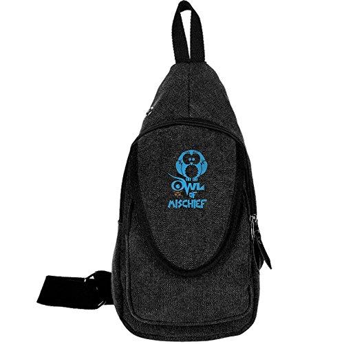 wl Of Mischief Crossbody Chest Bag Canvas Travel Backpack For Men & Women Shoulder Or Crossbody (William Joseph Fly Vest)