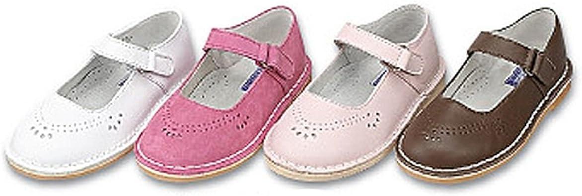 IM Link Girls Cutout Mary Jane Dress Shoes