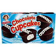 Little Debbie Chocolate Cupcakes, 1 Box, 8 Individually Wrapped Cupcakes