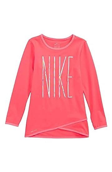 072512c626 Amazon.com: NIKE Dri-Fit Crossover Tunic - Girls' Toddler: Clothing