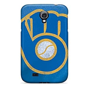 For Case Samsung Galaxy Note 2 N7100 Cover Fashion Design Milwaukee Brewers Case-oOabSmm1862ZEBdf