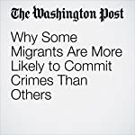 Why Some Migrants Are More Likely to Commit Crimes Than Others | Rick Noack