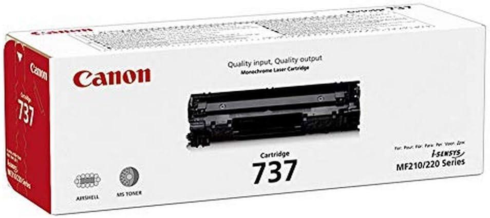 Canon Toner Cartridge 737 Schwarz Standard Bürobedarf Schreibwaren
