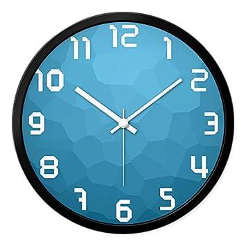 Amazon.de: Personalisierte Clock Mode Wanduhr Wohnzimmer ...