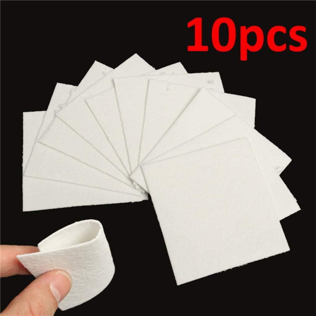 Yongse 10 Sheets Bullseye HotPot Thinfire Kiln Paper for Glass Fusing