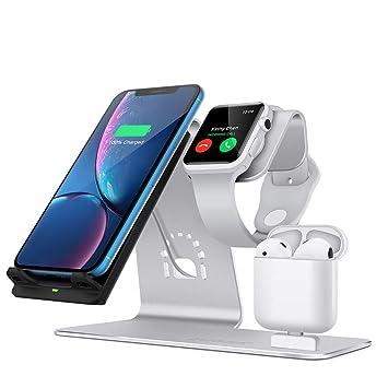 LUCKYGBY Cargador Inalámbrico para Apple Watch, Estación de ...