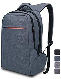 Laptop Backpack ,Multifunctional Unisex Luggage&Travel Bags Knapsack,rucksack Backpack Hiking Bags Fits Up to 15.6 Inch Laptop Macbook Computer,MacBook Air / Pro Retina Display Backpack in Grey Blue