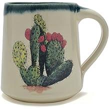Great Bay Pottery Prickly Pear Coffee Mug