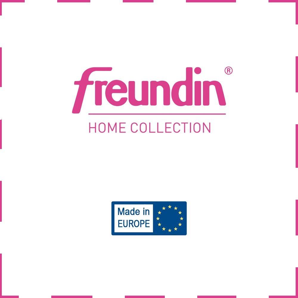 Freundin Freundin Freundin Home Collection PrimRosa Design Hochflorteppich mit Fransen Polypropylen Creme Blau 170 x 120 x 0,35 cm B07B52D17J Teppiche 08e386