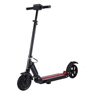 DAHEMA Bici Eléctrica Plegable Adulta 8 Pulgadas, Vespa Eléctrica Plegable De Dos Ruedas Adultas De