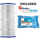 Pleatco Cartridge Filter PSR70 Sta-Rite Posi-Flo II PTM70 T-70TX T-70TXR 70GPM-TX 70TX 70TXR open w/12 concentric slots WC108-572SX w/ 1x Filter Wash