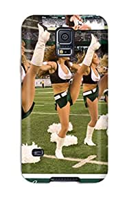 Awesome New York Jets Flip Case With Fashion Design For Galaxy S5