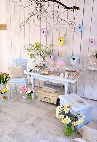Leyiyi 8x10ft Photography Background Happy Easter Backdrop T