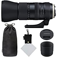 Tamron SP 150-600mm F/5-6.3 Di VC USD G2 for Nikon Digital SLR (Model A022) and Polaroid Micro Fiber Cleaning Cloth With Storage Pouch (Certified Refurbished)