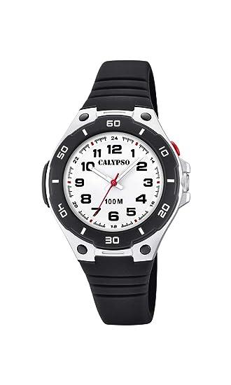 Calypso Watches Reloj Analógico para Unisex Adultos de Cuarzo con Correa en Plástico K5758/6: Amazon.es: Relojes