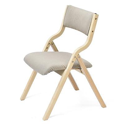 Chair QL sillones Plegables Home Dining Chair Silla Plegable ...