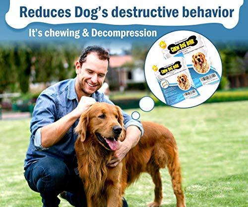 Boltz Rawhide Pressed Dog Chew Bone, (Medium 5-inch Size) 1 Kg Pack