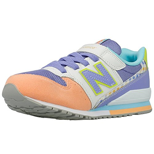 New Balance - KV996 - KV996CSY - Couleur: Blanc-Orange-Violet - Pointure: 29.0