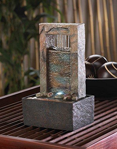 Koehler Home Decor Cascading Water Tabletop Fountain
