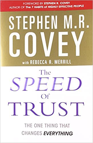 The Speed Of Trust Book Pdf