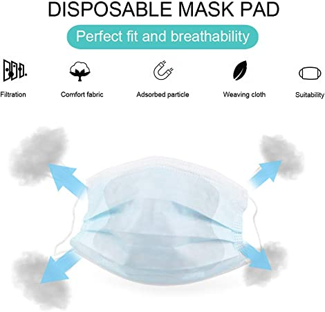 100pcs disposable ear loop face mask