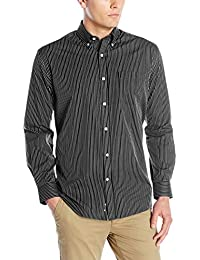 Cutter & Buck Men's Long Sleeve Epic Easy Care Pin-Stripe