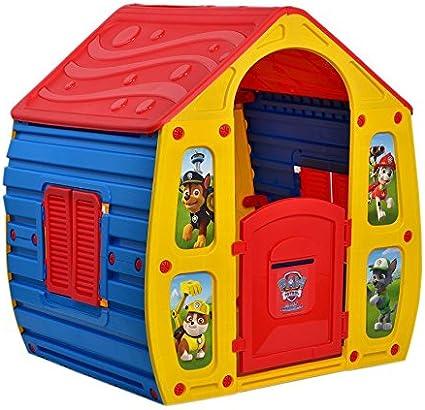 Colores Casa De Juguete Para Niños Paw Patrol Casa de Jardín Casa de juegos Mágica plástico: Amazon.es: Jardín