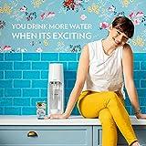 SodaStream Fizzi Sparkling Water Maker, 5.5 x 8 x