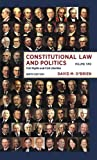 A topical and comprehensive look at the cases that have shaped our nation. This authoritative casebook presents a wide range of excerpts and opinions from the most significant Supreme Court cases and places each case in its historical and political c...
