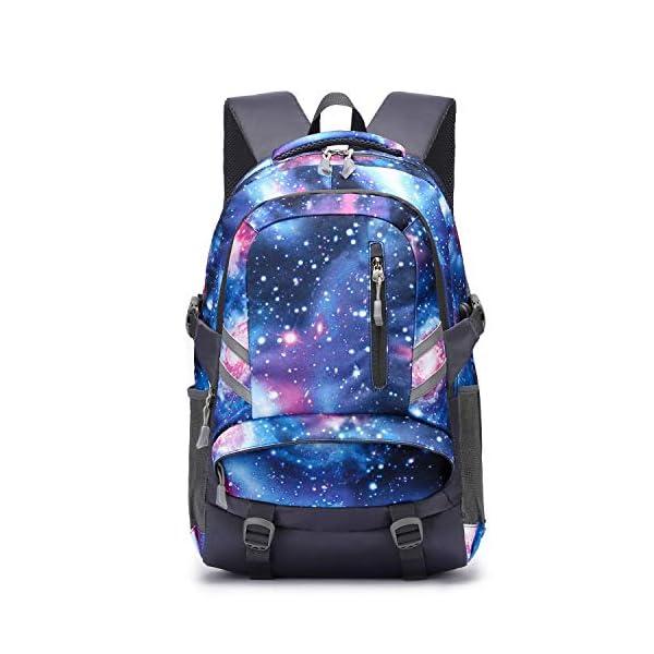 Zaino Scuola Superiore per PC 15.6 Pollici da ragazzo e ragazza, Backpack Portabile Casual Rucksack per Laptop… 1 spesavip