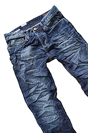 JACK & JONES Herren Jeans Normaler Bund 12069219 NICK ORIGINAL AT 611 ORG:  Amazon.de: Bekleidung