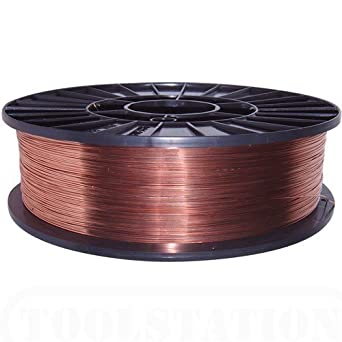 MIG Welding Wire 0.9kg 0.8mm Gasless: Amazon.co.uk: Business ...