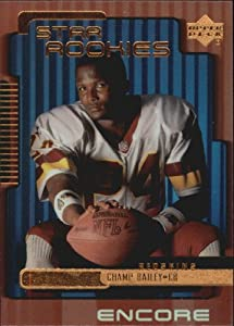1999 Upper Deck Encore Football Rookie Card #181 Champ Bailey Near Mint/Mint