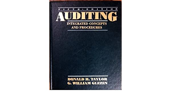Auditing Integrated Concepts And Procedures Donald H
