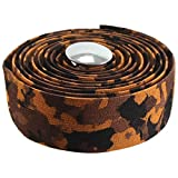 Soma Striated Bar Tape, Brown Camo