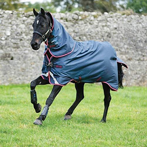 Horseware Ireland, Amigo Bravo 250G Navy/Red/Blue, 84 (Blanket Horse Navy Blue)