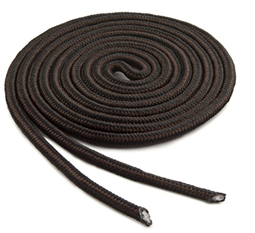 OrthoStep Heavy Duty Black - Brown Combo 72 inch Work Boot Laces 2 Pair Pack