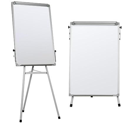 amazon com yaheetech portable dry erase easel magnetic white board