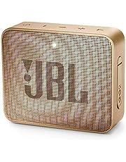 JBL Go 2 Portable Bluetooth Waterproof Speaker (Champagne), JBLGo2Cpn