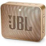 Caixa de Som Bluetooth - 1.0 - JBL GO 2 (À prova de água) - Champagne