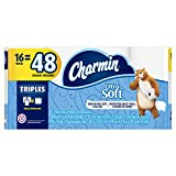 Image of Charmin Ultra Soft Toilet Paper, 16 Triple Rolls Equal To 48 Regular Rolls, 16 Count