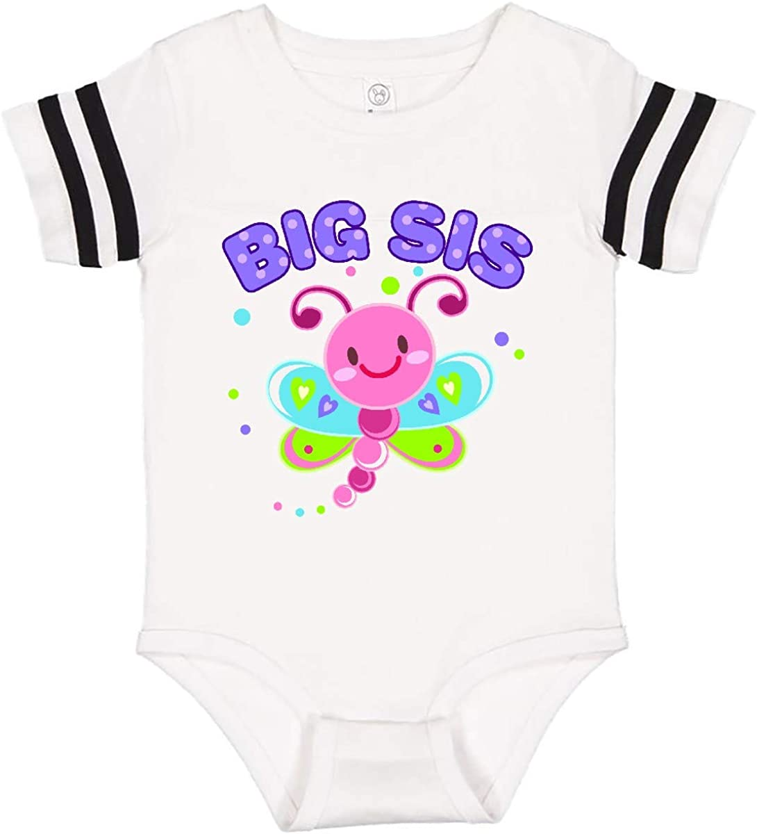 inktastic Big Sis Dragonfly Sibling Infant Creeper