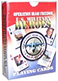 Operation Iraqi Freedom 'Us Military Heroes' Playing Cards