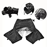Itian Professional Camera Rain Cover Protector Waterproof for Canon Nikon and Other DSLR Cameras