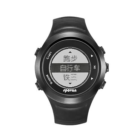 ARAYACY GPS Multifuncional Reloj Deportivo para Correr Al Aire Libre para Correr, Montar A Caballo