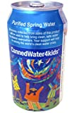 CannedWater4Kids Purified Spring Canned Water