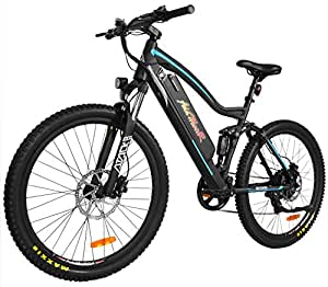 Addmotor HITHOT Electric Bicycle Sport Mountain Bike 500W 48V 11.6Ah Battery Electric Bike With Full Suspension 2018 H1 Platinum EBikes