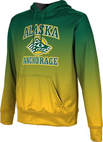 ProSphere University of Alaska Anchorage Boys' Pullover Hoodie, School Spirit Sweatshirt (Zoom) F8E71