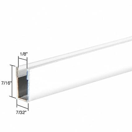 CRL White Standard Storm Window Frame for Double Strength Glass - 12 ...