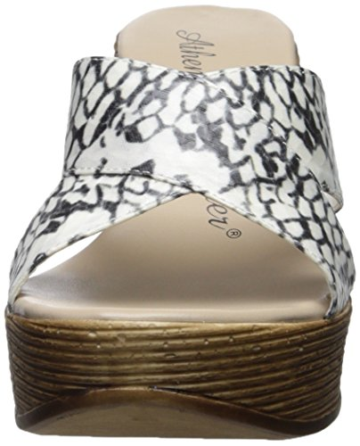 Athena Alexander Kvinners Urne Kile Sandal Python Slange
